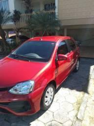 Toyota Etios 1.5 2018 automático