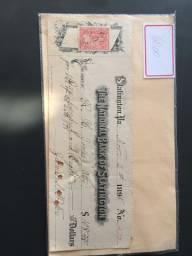 Cheque antigo