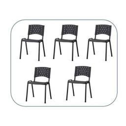 Cadeira plástica, cadeira iso, cadeira empilhavel