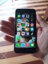 Vendo Celular Iphone 6S, Tela trincada mas funcionando perfeitamente