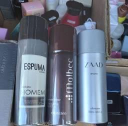 Perfumes, desodorantes e hidratantes