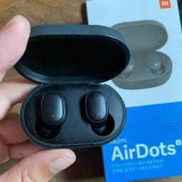 AirDots S com função game e Earbuds 2 Originais entrega grátis