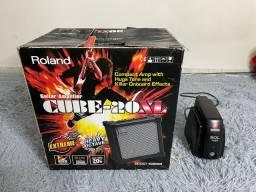 Amplificador Cube Roland 20 XL 110V + Estabilizador