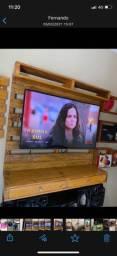 Painel de Tv Rústico de Palete
