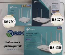 Roteador/Modem Quebra parede 4 antenas novo na caixa Tp-link