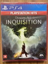 Dragon Age Inquisition - Ps4 Mídia Física Lacrado