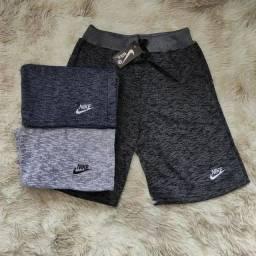 Título do anúncio: Bermuda moletom Nike ou Adidas (p ao gg) entrega gratuita para toda João pessoa