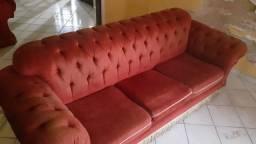 Sofa 2 e 3 lugares! Vendemos junto ou separado! Em otimo estado