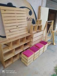 Móveis de madeira , móveis de pinus , tudo para sua loja ,
