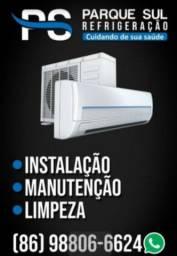 Título do anúncio: Limpeza e instalacao de split/ ar condicionado