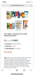 Coleção de livros administração