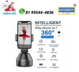 Suporte Inteligente Para you tuber Celular Rastreamento Facial e objetos 360º só zap
