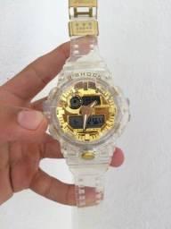 Título do anúncio: Relógio G-Shock Trasnparente A prova d'água