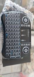 Mini teclado para tv smart ou tv box