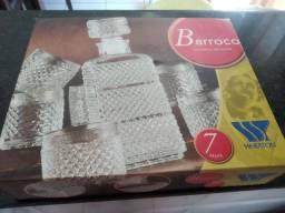 Conjunto decanter Barroco