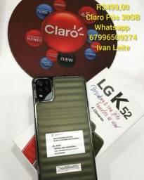 LG K52 Oferta Claro Shopping Dourados