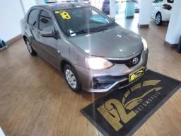 Título do anúncio: Toyota Etios Sedan Xs 1.5 2018- Todo Revisado na concessionaria