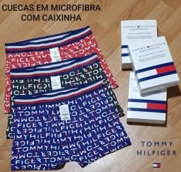 Kit 3 Cuecas Boxers Tommy Hilfiger