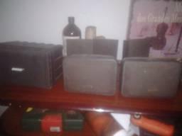 Kit 6 caixas passivas ambiente