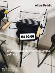 Título do anúncio: CHURRASQUEIRA DE RODA