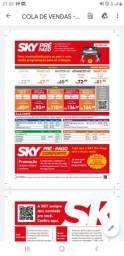 Título do anúncio: PACOTES SKY POS PAGO