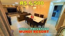 Cobertura Mundi Resort com 03 Suítes