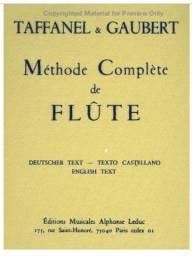 Metodo de Flauta Paul Taffanel / Philippe Gaubert (Completo)