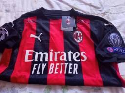 Camisa Milan 20/21 M, original