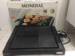 Chapa grill churrasqueira mondial