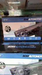 Som automotivo via Bluetooth entrada usb rádio