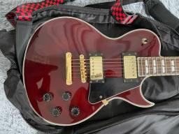 Guitarra SX Les Paul Custom GG1 Vinho