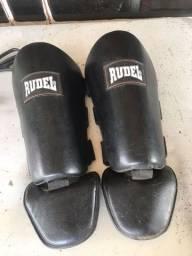Título do anúncio: Caneleira para Muay-Thai Rudel