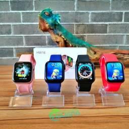 "Smart Watch Hw16 - Tela 1,72"""