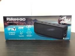 Cixainha de Som Bluetooth Speaker Philco Go Speake 25W à prova d?água