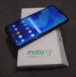 Vendo Moto G8 Power Lite 64 GB na Caixa Aparelho Top Divido Nos Cartões!