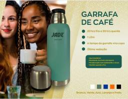 Título do anúncio: Garrafa Térmica Jade 20 horas Sem Perder Temperatura