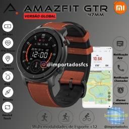 Relógio Amazfit GTR 47mm a1902 Glonass/GPS - SmartWatch+ Brinde
