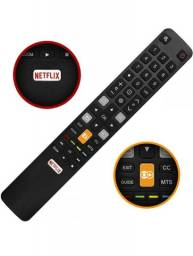Controle Smart tv TCL Semp Toshiba Netflix Globoplay<br><br>