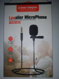 Microfone profissional de lapela