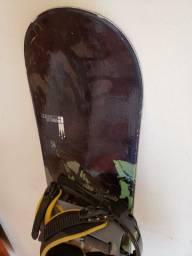 Snowboard ride com Bindings da Burton