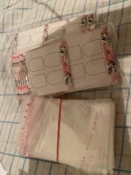 Combo cartões de casadinho +embalagem