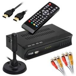 Kit Conversor Digital + Antena - A Nova TV Digital