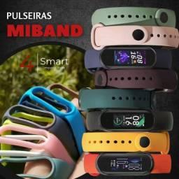 Pulseiras para Miband 5, 6 e Smartband M5