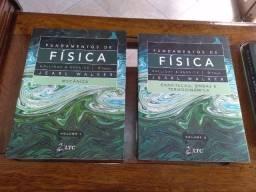 Fundamentos de Física 1 e 2 - 9ª Edição 2012