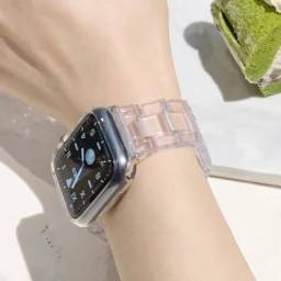 Pulseira transparente Apple watch 40/44mm