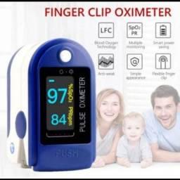 Oxímetro de dedo azul MENOR PREÇO EM FOZ
