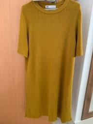 Vestido Zara em tricot