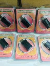 Título do anúncio: Adaptador de Som USB 7.1
