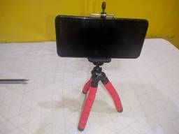 Tripé para Smartphone (Formato de Polvo) com controle remoto.