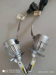 Lâmpadas LED H11 e H4